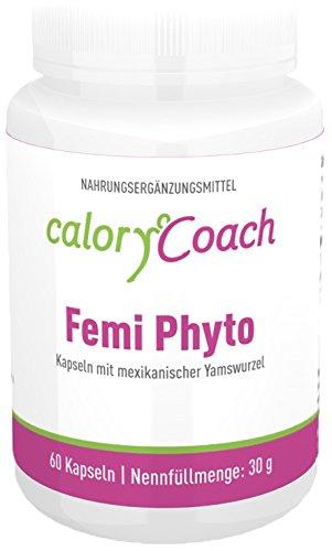 CaloryCoach Femi Phyto mit mexikanischer Yamswurzel - 60 Kapseln