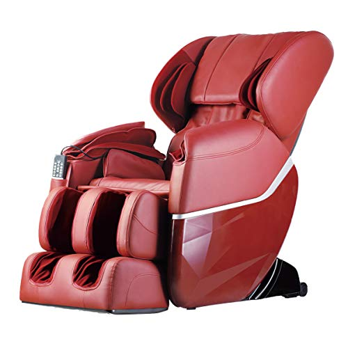 Zero Gravity Full Body Electric Shiatsu FDA Approved Massage Chair Recliner with Built-in Heat...