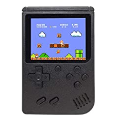 1. It is 400 Retro FC Games in 1 Console - More than 168 NES games. Built-in 400 Retro FC games. A perfect companion to promote your kids' eyehand coordination abilities. It can also take you to your childhood. Gameboy of 3 Inch Color Screen - is sli...