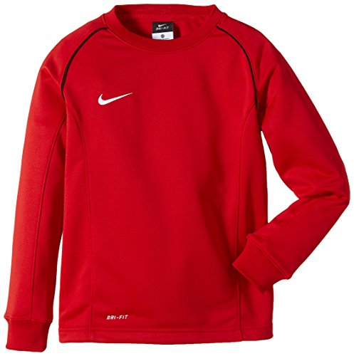 NIKE Sweatshirt Foundation 12 Midlayer - Prenda, Color Multicolor (University Red/Black/White), Talla XL
