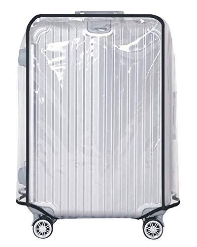 MISSMAO_FASHION2019 Klare PVC Wasserdichte Kofferabdeckung Reisegepäckabdeckung Kofferschutzhülle Transparent für 18-30 Transparent...
