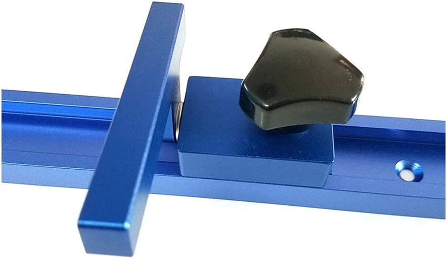 Japan Maker New HCHL Woodworking Under blast sales Tools, Blue Aluminum T-Track Woodwo and Alloy