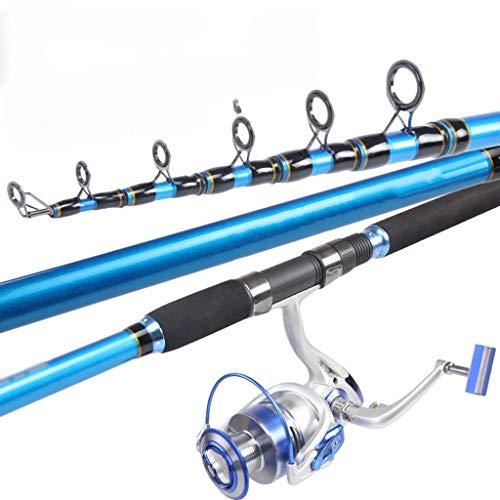 Canna da Pesca Super Hard, Ultra Light, Carbon Manico telescopico Portatile Maniglia Drip Wheel Long Fishing Rod (Color : 3.9m 8Festival)