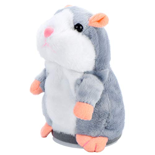 jojofuny Talking Hamster Repeats What You Say, 2 unidades Talking Hamster Plush Toys, Electronic Pet Gift for Kids