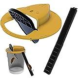 Flip N Slide Bucket Lid Mouse Rat Trap Multi Catch, avec Couvercle de Seau à Souris Compatible, piège à Rat Souris, Balance Mouse Rat Trap pour Une Utilisation intérieure et extérieure