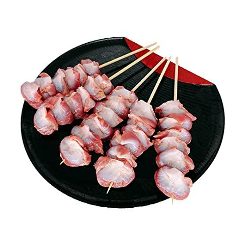 国産 焼き鳥 職人手作り 鶏砂肝串 30本 (冷凍品)