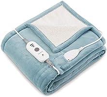 電熱毯 電熱膝毯 電熱毯 160x130厘米 洗衣機、手洗 3個加熱階段 適合送禮 PSE認證