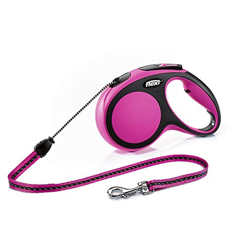 flexi New Comfort M Seil 8 m pink für Hunde bis 20 kg