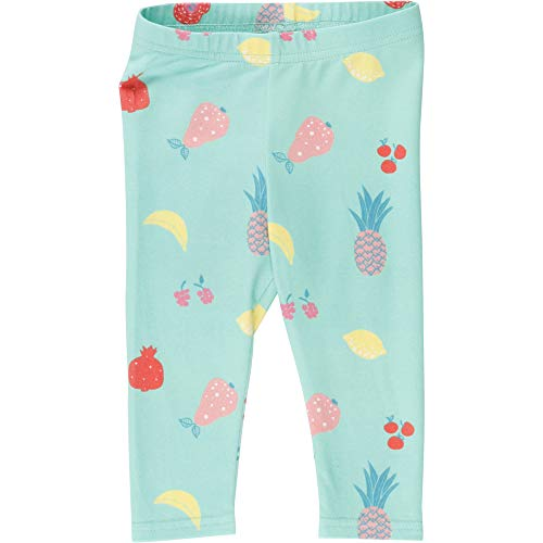 Fred'S World By Green Cotton Fruit Leggings, Vert (Aqua 014481201), 95 (Taille Fabricant: 80) Bébé Fille