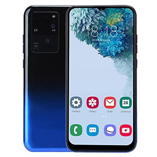 Annadue Teléfono móvil con Pantalla de Gota de Agua HD de 6.26 Pulgadas S30U HD, teléfono Inteligente con Doble Modo de Espera y Doble Tarjeta con cámara de 2MP, teléfono móvil 1 + 8G(Azul Degradado)