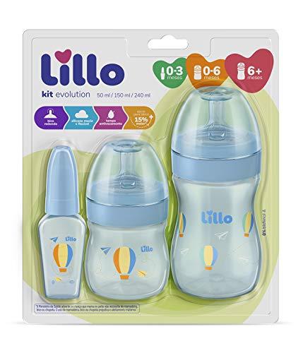 Kit Primeiros Passos - Lillo, Azul, Vários volumes