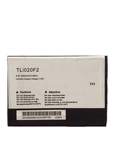 Todobarato24h Bateria Alcatel One Touch Pop C7, Roya, Fierce 2 7040N / Pixi 4 5 Pulgadas 5010D 3G / 2000mAh TLi020F2/F1