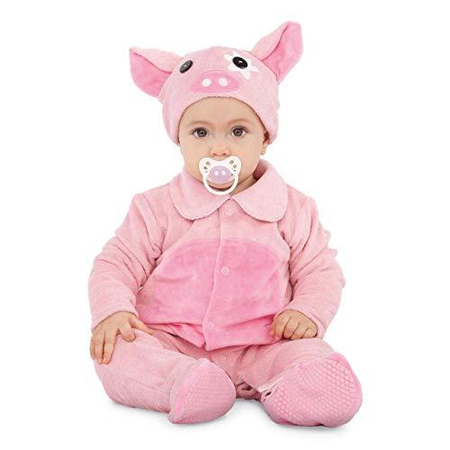 My Other Me Disfraz de Cerdito Rosa para bebé