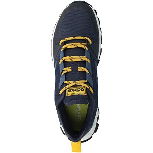 Adidas Schuhe Kanadia Trail Trace Blue-Tech Ink-Active Gold (EE8183) 40 2/3 Blau