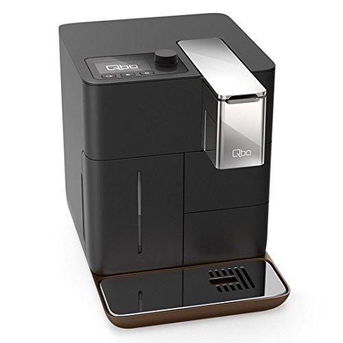 Qbo You-Rista Kaffeemaschine (Alexa kompatibel) – Kaffee Kapselmaschine für Caffe Crema, Espresso und Caffè Grande (19 Bar, 1500 Watt) steuerbar via App, ultimate schwarz