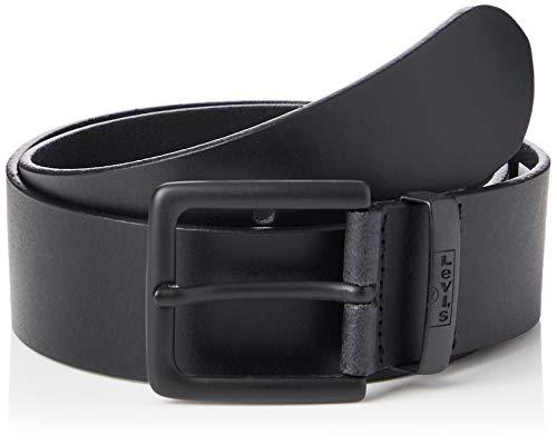 Levi's New Albert Metal Cintura, Black, 90 Unisex-Adulto