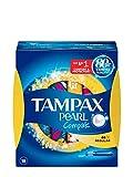Tampax Compak Pearl Regular con Aplicador, el Mejor Tampón Tampax En Comodidad,...