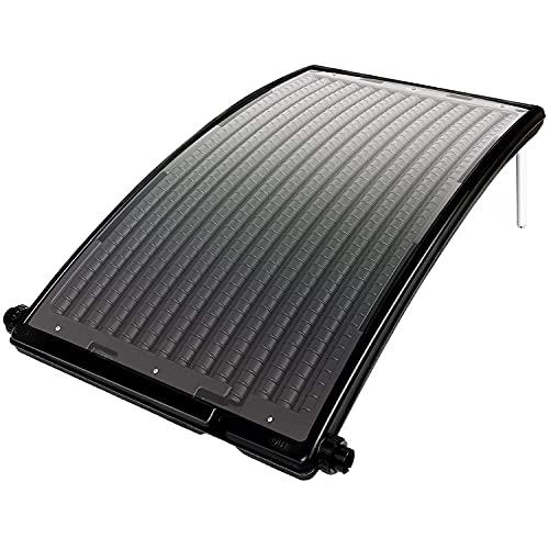 TolleTour Sonnenkollektor Solar Poolheizung Solarheizung Pool Heizungen Solaranlage Warmwasser Gartendusche 110 x 69 x 14 cm für Pool