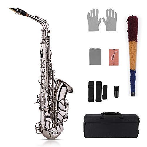 Muslady Eb Alto Saxofón Latón Oro Dorado 802 Tipo de