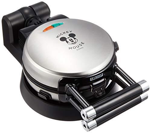 ドウシシャ ワッフルメーカー DisneyCharacter シリーズ ミッキーマウス シルバー WAFU-100SI