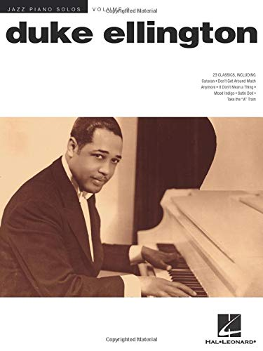 Duke Ellington: Jazz Piano Solos Series Volume 9 Duke Ellington Music Book