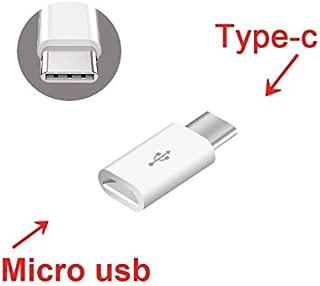 Jadebin Micro USB to USB Type C (USB 3.1) OTG & Data Transfer Adapter for Smartphones