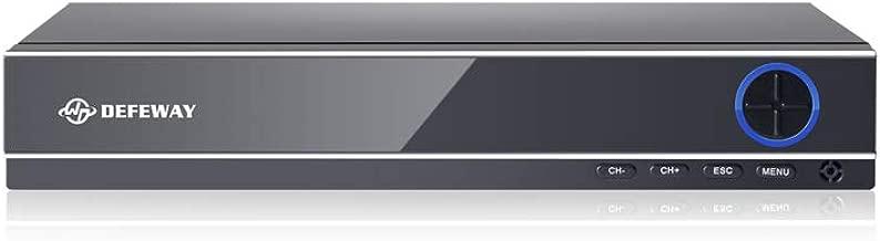 DEFEWAY 1080p 16 Channels 4-in-1 DVR HD TVI CCTV DVR Security System Network Motion Detection H.264 16CH Digital Video Recorder, No Hard Drive …