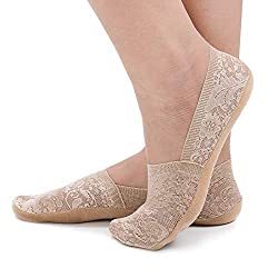 【FITS WOMEN'S SHOE SIZING UK 3-8】These socks come in one size and stretchy to fits well on most women; Please contact us if you would like help with sizing 【360° FLAT ELASTANE CUFF】Elastic collar band for easy on and off, won't mangle your feet 【ANTI...