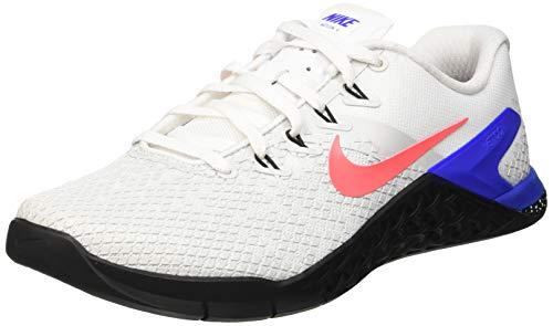 Tênis de Treino Masculino Nike Metcon 4 XD BV1636-164 Branco/Preto/Azul/Carmesim, White/Flash Crimson/Racer Blue/Black, 10