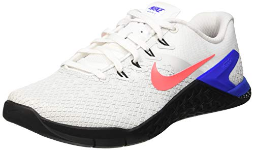 Nike Metcon 4 Xd, Zapatillas de Gimnasia para Hombre, (White/Flash Crimson/Racer Blue/Black 164), 44 EU