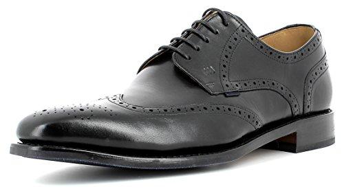 Gordon /& Bros Schuhe MILAN schwarz Herrenschuhe 4374-G black NEU