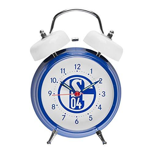 FC Schalke 04 Glockenwecker - Retro - Sound Wecker, Soundwecker S04 - Plus Lesezeichen I Love Gelsenkirchen