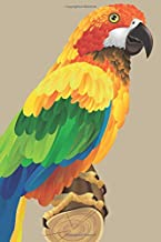 Wildlife Parrot Bird: Blank Lined Notebook, Journal or Diary