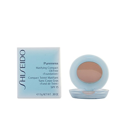 Shiseido Damen Matifying Compact Oil-Free, N°40 Beige Natural, SPF 15, 11 g