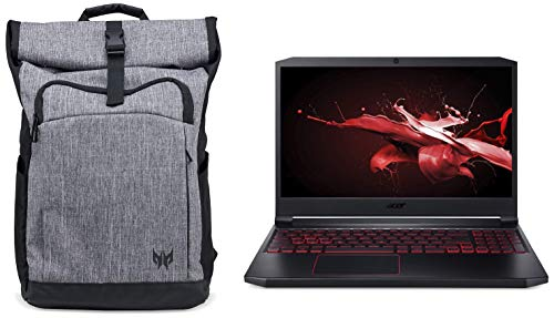 Acer Nitro 7 9th Gen Core i5 15.6-inch Full HD IPS Thin and Light Gaming Laptop (8GB/1TB SSD/Windows 10/6GB Graphics/Obsidian Black/2.5kg), AN715-51