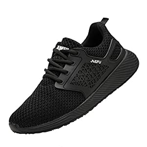 Zapatos de Seguridad para Hombre con Puntera de Acero Zapatillas de Seguridad Trabajo, Calzado de Industrial y Deportiva Antideslizante Resistente al Desgaste Calzado de Trabajo Zapatos Planos