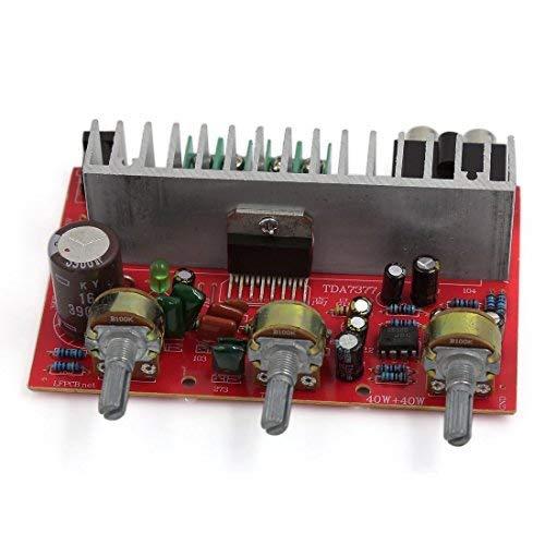 Manyao Tablero del Amplificador de energía del Coche 40W + 40W de Audio Hi-Fi
