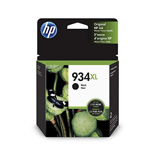 HP 934XL schwarz Original Druckerpatrone mit hoher Reichweite für HP Officejet Pro 6830, HP Officejet Pro 6230