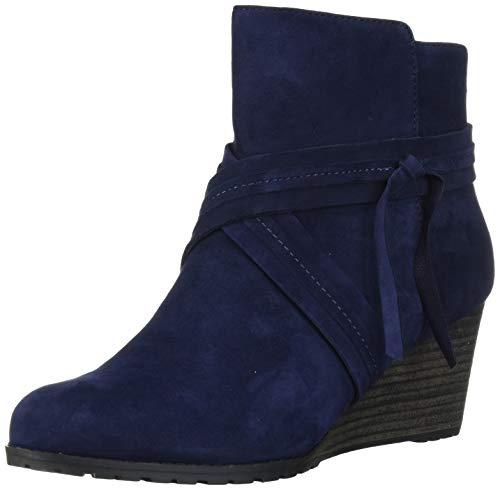 Rockport Damen Hollis XStrap Boot Stiefelette, blau, 38 EU