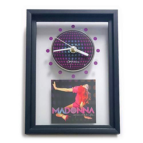MADONNA - Confessions On A Dance Floor: GERAHMTE CD-WANDUHR/Exklusives Design
