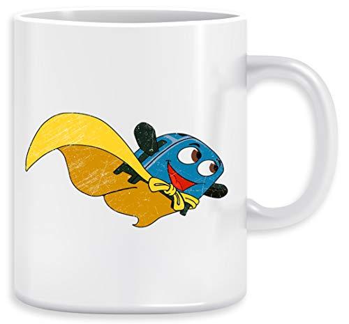 Valiente Pequeño Tostadora - Volar Lejos Taza Ceramic Mug Cup