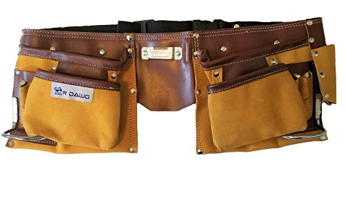 Suede Leather Tool Belt