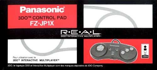 3do Control Pad Fz-jp1x