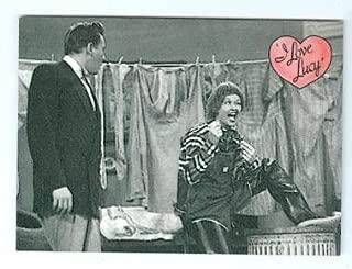 Lucille Ball Desi Arnaz trading card I Love Lucy 2001 Dart #4 Men Are Messy