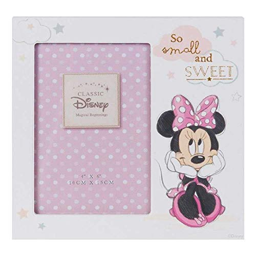 Disney DI409 – MDF-Bilderrahmen mit Minnie Maus, 10 x 15 cm