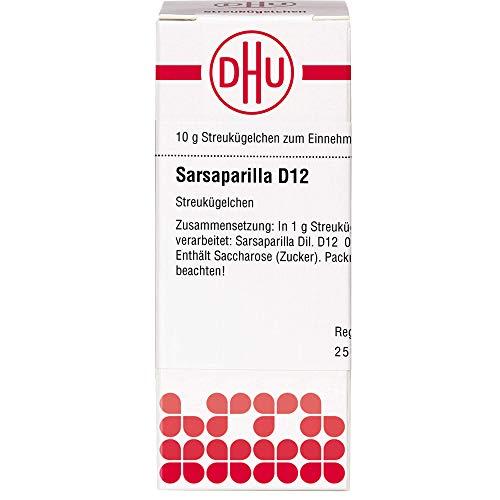 DHU Sarsaparilla D12 Streukügelchen, 10 g Globuli