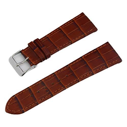 CASSIS[カシス] カーフ(型押し) 時計ベルト BOCHUM ボーフム 22mm ゴールドブラウン 交換用工具付き D1091480041022