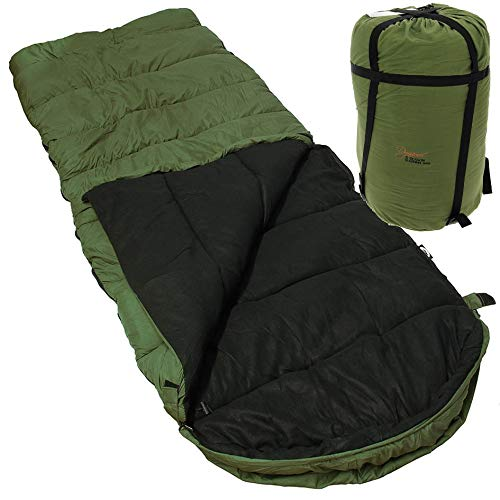NGT 5 SEASONS WARM DYNAMIC SLEEPING BAG WITH HOOD CARP FISHING CAMPING HUNTING