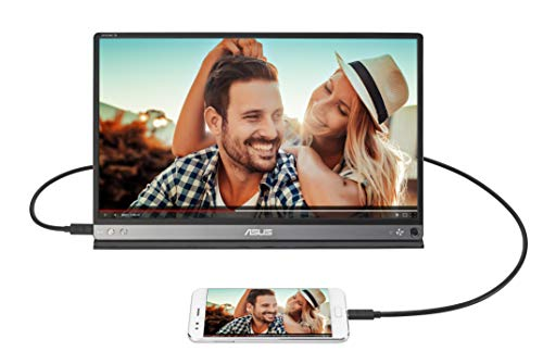 ASUS ZenScreen Go MB16AP 15.6 Inch USB Type-C Portable Monitor, FHD (1920x1080), IPS, up to 4 hours battery, Foldable Smart case, Compatible with USB Type-A