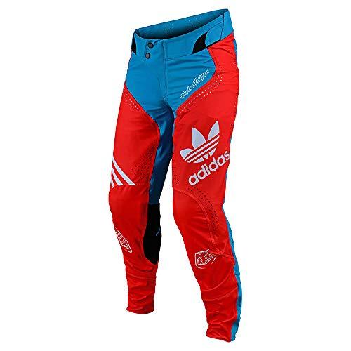 Troy Lee Designs 252800015 Ultra Pant, Adidas Team Ocean/Flo Orange 36